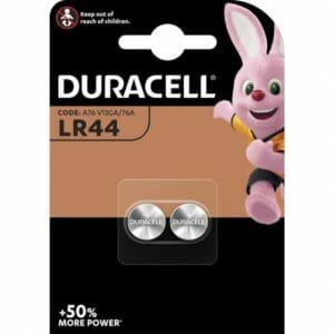 Duracell LR44 knoopcelbatterij